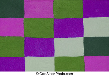 Amazing texture with a square pattern.