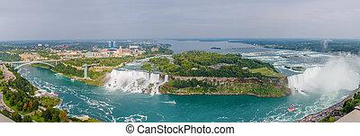 Amazing view of Niagara Falls