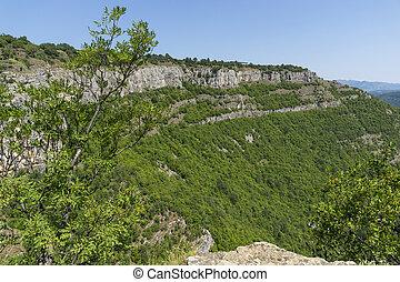 Amazing view of Stara Planina Mountain near village of Zasele, Bulgaria