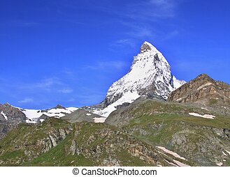 Matterhorn in the Swiss Alps