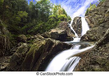 amazing water fall