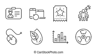 ambassadeur, graphique, set., marque, diagramme, vecteur, ...