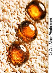 Amber decoration