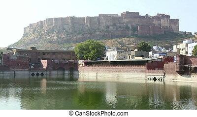 Amber fort - Magnificent Amber fort. Jaipur, Rajasthan,...