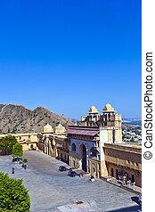 Amber Fort in Jaipur, India
