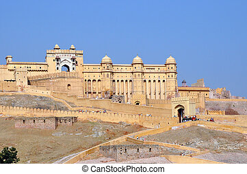 Amber Fort, picture taken in Jaipur, India.