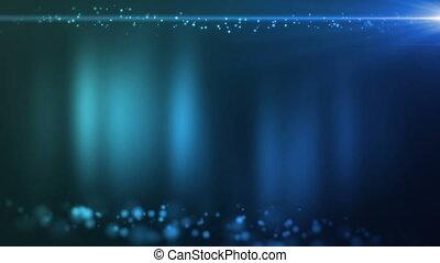 Ambient Particles Blue.mov - Ambient motion with subtle...