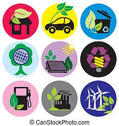 ambiental, ícones