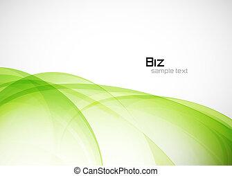 ambientale, astratto, sfondo verde