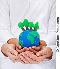 ambiente, concetto, ecologia
