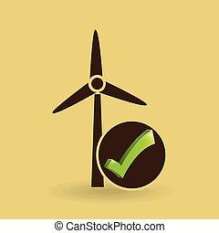 ambiente, eco, energia, concetto