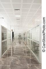 ambiente, moderno, oficina