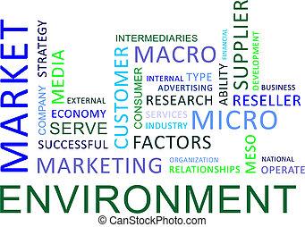 ambiente, parola, -, nuvola, mercato