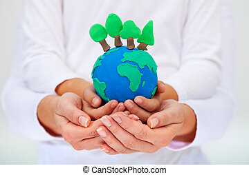 ambiente, Proteger, concepto, nuestro