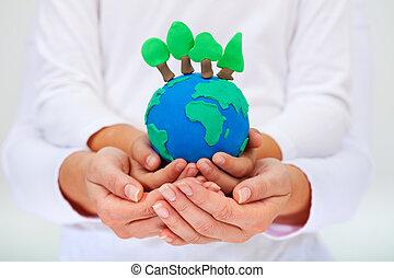 ambiente, protezione, concetto, nostro