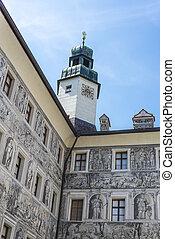 ambras, austria., hofburg, innsbruck
