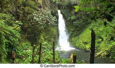 Ambua waterfalls - Papua New Guinea, Highland territory at...