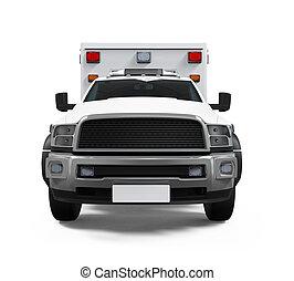 ambulância, car