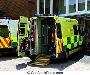 Ambulance 2 - British ambulance