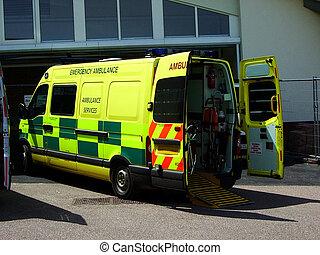 Ambulance 3 - British Ambulance
