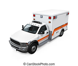 ambulance, automobilen