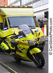 Ambulance bike