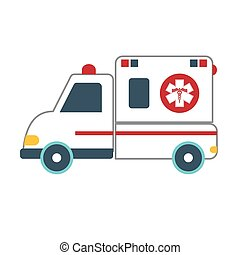 ambulance car icon image