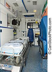 ambulance car interior