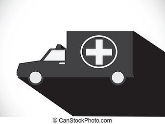 ambulance car sign medical