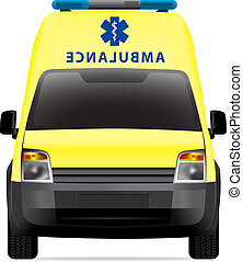 Ambulance car vector illustration