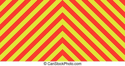 ambulance emergency background sign yellow and red stripes diagonally, ambulance emergency diagonal stripes, a warning to traffic safety