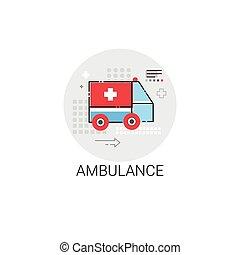 Ambulance Hospital Doctors Clinic Medical Treatment Icon