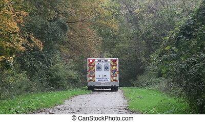 ambulance, mission, secours
