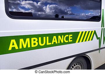 Ambulance on Mission.