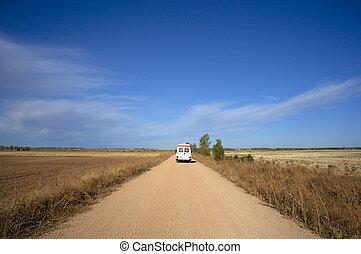 Ambulance on the way