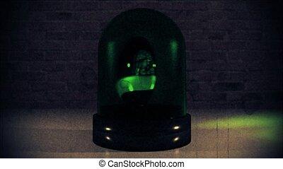 Ambulance police light flashing hazard siren cops crime car...
