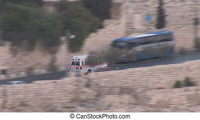 Ambulance rushes