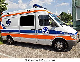 ambulance side