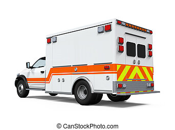 ambulance, voiture