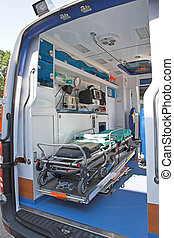 ambulancia, interior