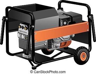 ambulant, generator magt