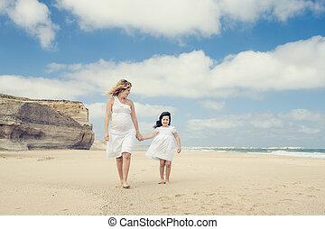 ambulante, en la playa