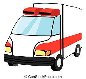 ambulanza, veicolo emergenza