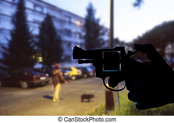 ambush in the night - armed robbery in the night