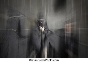 Ambush of death in an alley