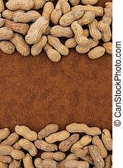 amendoim, borda