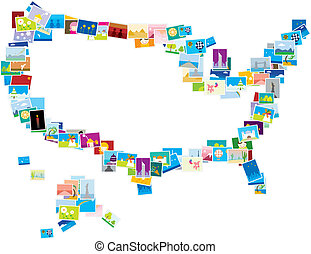 Amerca map