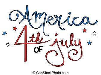 America 4th of July