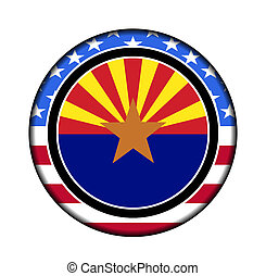 america arizona button