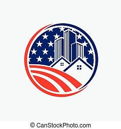 America Building logo